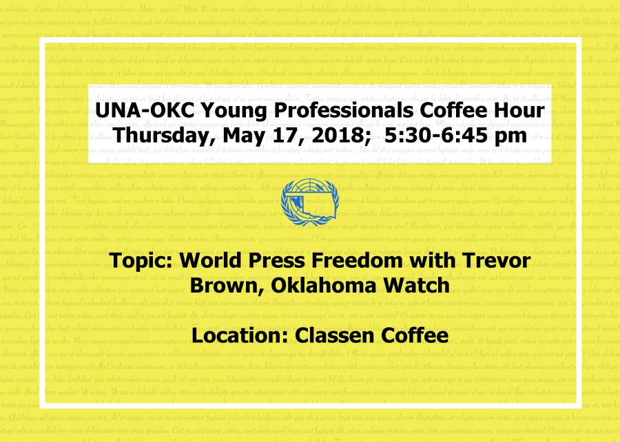 Facebook Banner World Press Day UNA-OKC YPHH May 2018